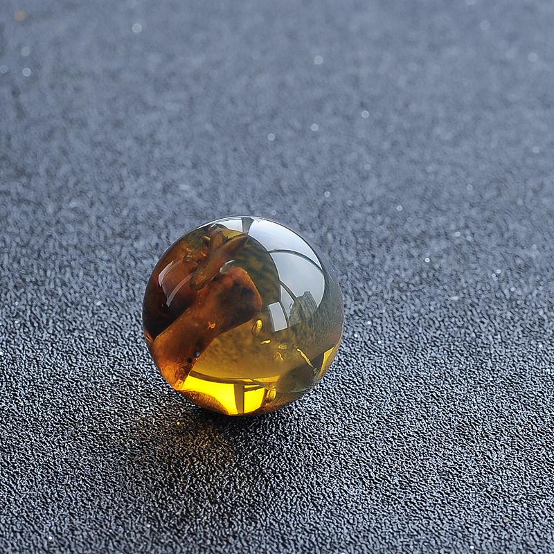 缅甸植物珀圆珠