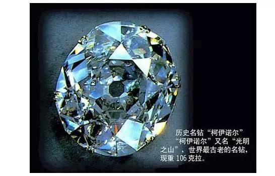 世界上最古老的钻石,却是君主噩运源头!