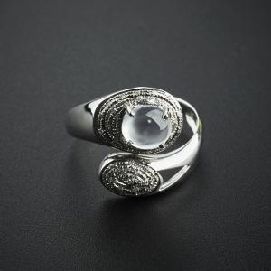 翡翠玻璃種戒指