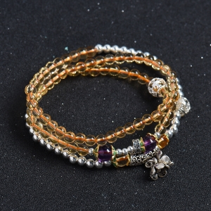 黄水晶手串