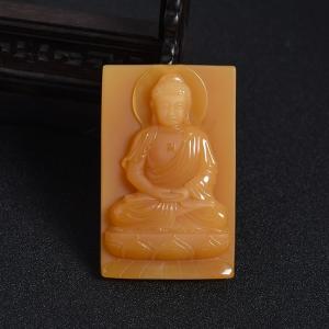 黄龙玉释迦牟尼佛像