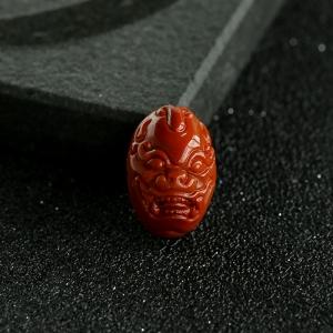 柿子红南红兽面