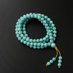 7.5mm绿松石项链