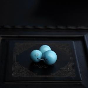 绿松石圆珠配件