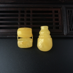 雞油黃蜜蠟配件