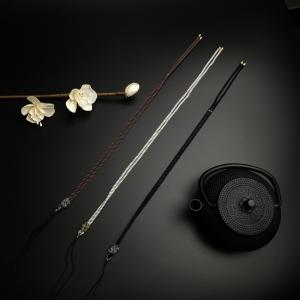 丝巾结项链绳(灰、咖、黑)