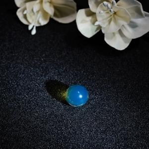 13mm多米尼加蓝珀圆珠