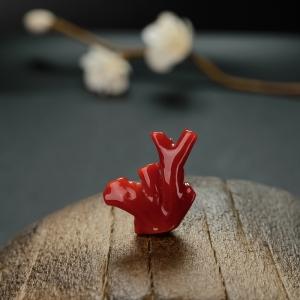 阿卡红珊瑚树枝