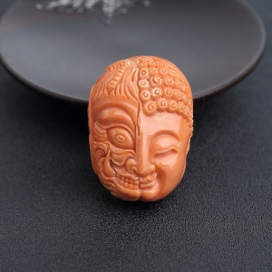 MOMO橘色珊瑚一念之间背云