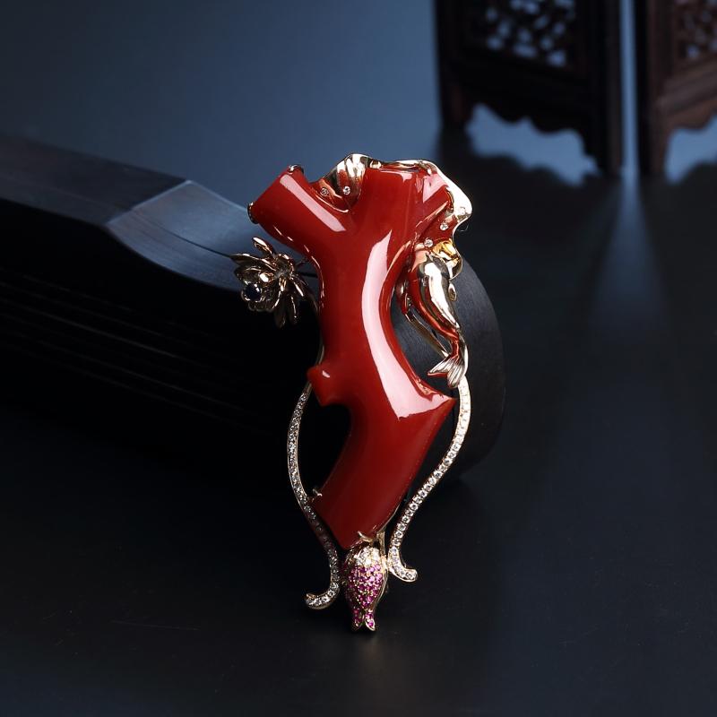 紅珊瑚首飾的鑒別方法