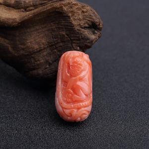 MISU粉红珊瑚猴子背云