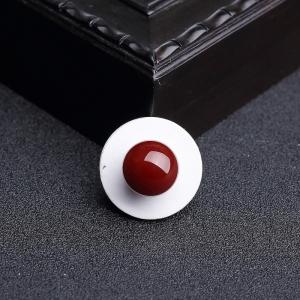 12mm阿卡黑红珊瑚圆珠