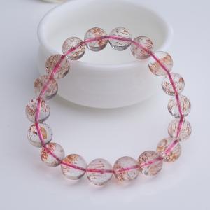 11mm金草莓晶手串