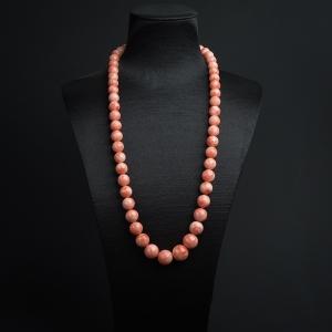 MISU粉色珊瑚塔链