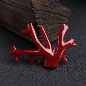 阿卡深紅珊瑚原枝