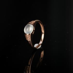 18K糯冰种翡翠戒指