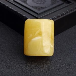 鸡油黄蜜蜡桶珠