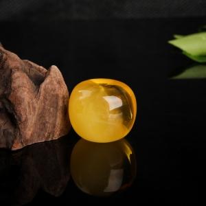 鸡油黄金绞蜜苹果珠