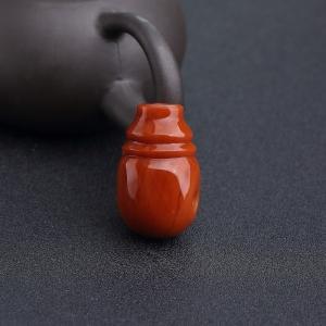 柿子红南红三通
