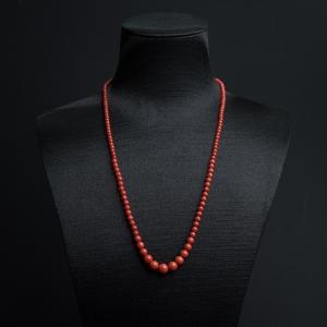沙丁朱红珊瑚塔链