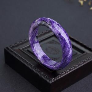 57mm紫龙晶平安镯
