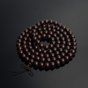 12mm半星小叶紫檀108佛珠
