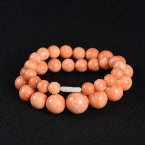 momo橘色珊瑚塔鏈