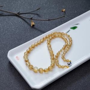 金发晶塔链