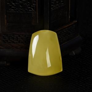 雞油黃金絞蜜平安無事吊墜