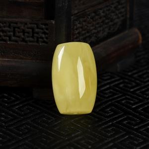 檸檬黃金絞蜜桶珠吊墜