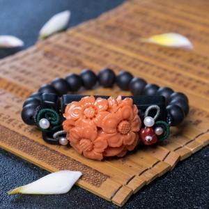 MOMO珊瑚花手串