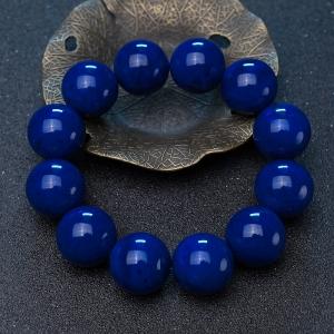 20mm深藍色青金石單圈手串
