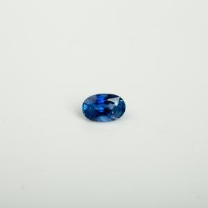 皇家蓝蓝宝石刻面戒面