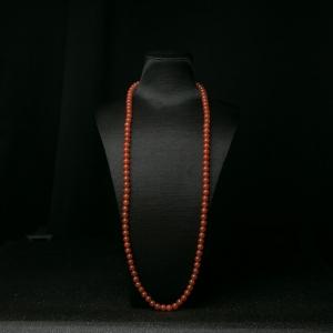 7.5mm樱桃红南红长链