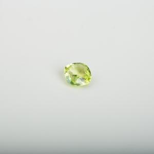 黄色金绿宝石刻面随形戒面