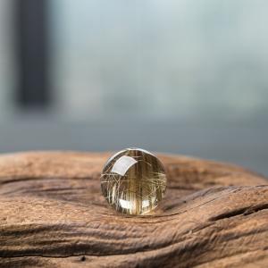 17mm金发晶圆珠