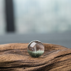 18.5mm綠幽靈圓珠