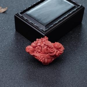 MOMO珊瑚花籃吊墜