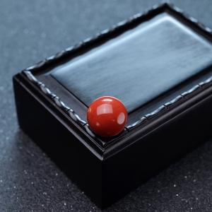 15.3mm阿卡珊瑚圆珠