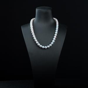 9.6mm真多麻珍珠项链