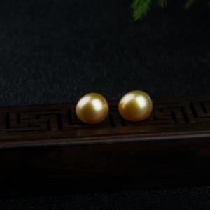 金珍珠(一对)