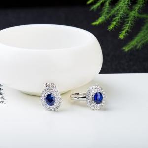 皇家蓝蓝宝石套装