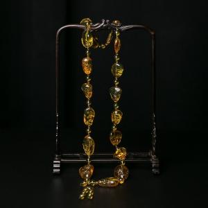 金兰珀十八罗汉项链