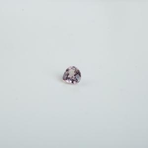 淡粉色杏仁状蓝宝石戒面