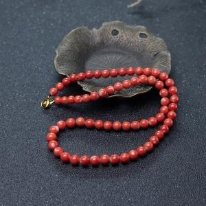 6mmMOMO珊瑚项链