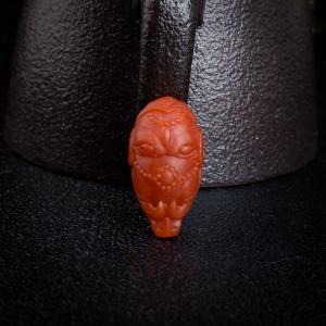 柿子红南红将相三通配件