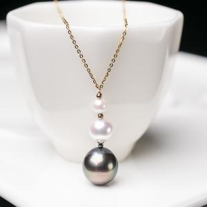 18K海水珍珠项链