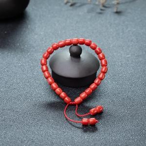 MOMO珊瑚桶珠手串