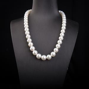 海水白色珍珠项链