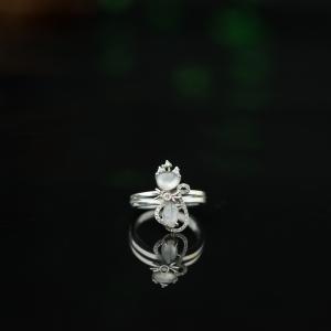 18K冰種翡翠戒指
